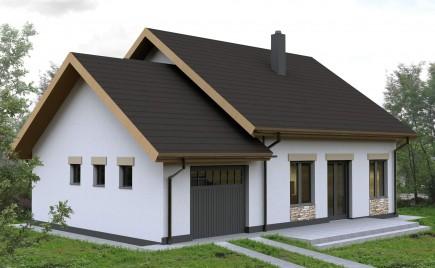 Casa parter cu garaj Borsa jud. Cluj