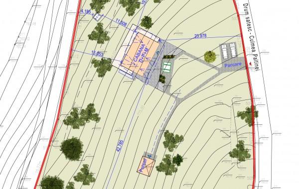 Plan urbanistic de detaliu (PUD) Somesu Rece jud. Cluj